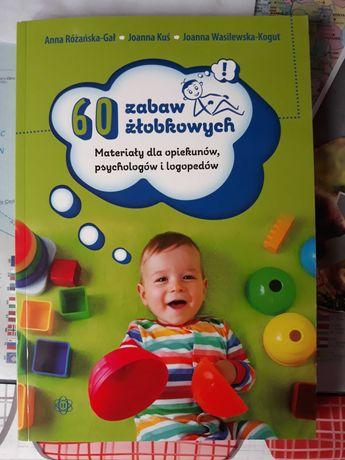 Książka 60 zabaw żłobkowych
