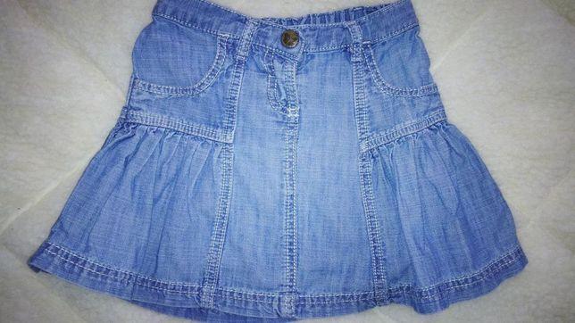 Продам джинсовую юбочку Next