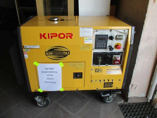 Wynajem, wypożyczenie agregatu prądotwórczego Kipor Diesel 10 kw