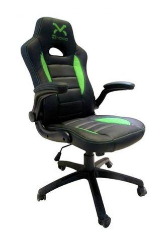 Cadeira GAMING DROXIO TROUN - Preta e verde