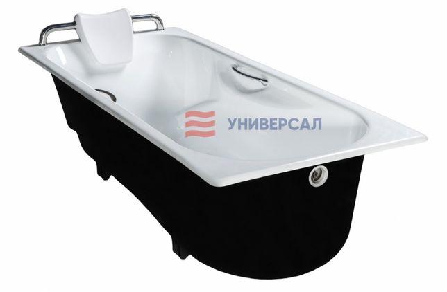 Чугунная ванна от завода Универсал.