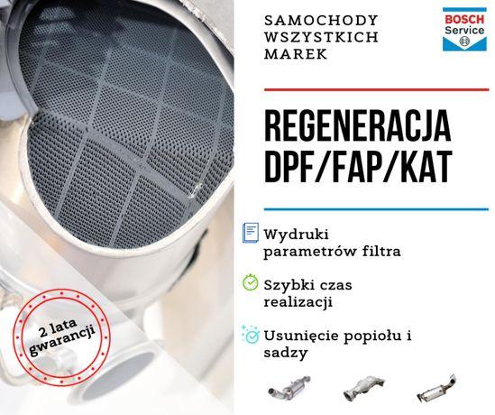 Regeneracja DPF FAP VW TOUAREG 3.0 TDI 4.2 TDI wszystkie modele