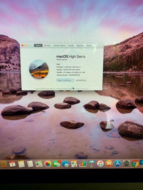 iMac 27' , core i7, 16 GB, 2009, HDD 1 TB