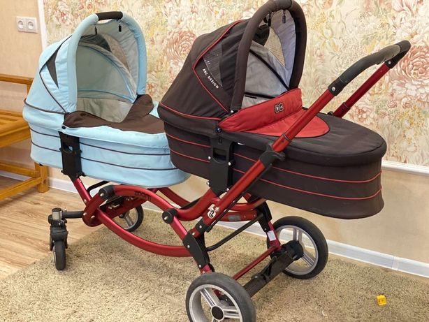 Коляска ABC Design Zoom Коляска Easy Go коляска для погодок, близнецов