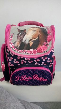 Plecak tornister w konie