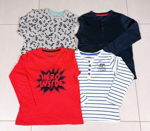 Bluzki długi rękaw dla chłopca 4 - 6 lat.