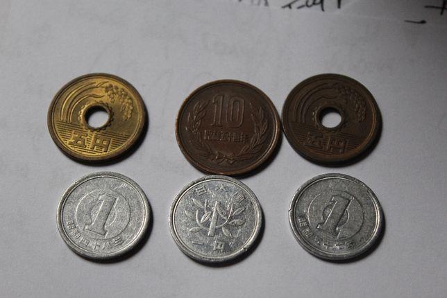 Monety Japonia
