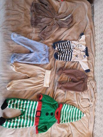 paczka z ubrankami dla chłopca rozm 68