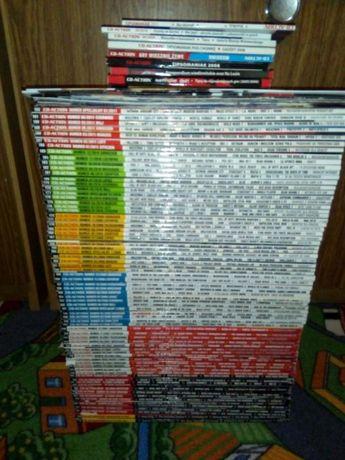 Sprzedam kolekcję czasopism CD-Action z dodatkami