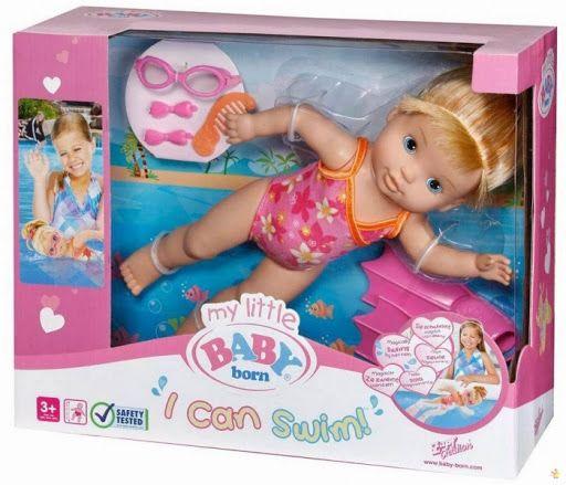 Кукла Zapf Creation My Little Baby Born Учимся плавать