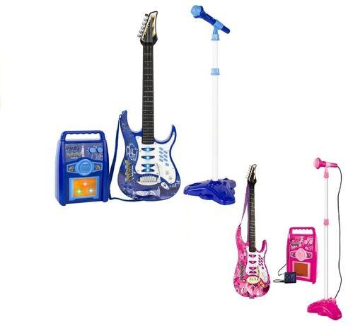Gitara Elektryczna Wzmacniacz Niebieska