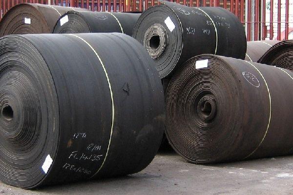 Конвейерная лента б.у. (транспортерная), ширина от 400 до 1200 мм.