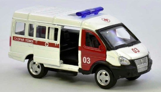Машинка Скорая помощь Автопарк Киев - изображение 1