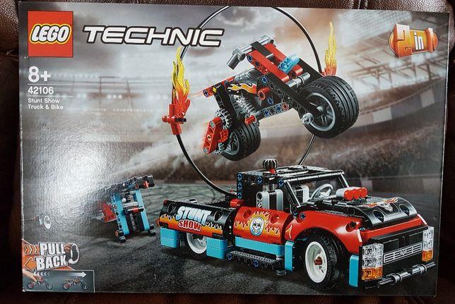 Lego 42106 Furgonetka i motocykl