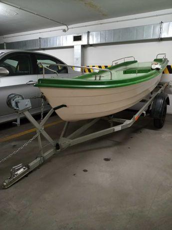 NOWA Łódka Wędkarska AGA Full Plus z przyczepkaą