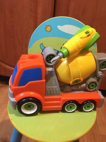 Машина бензовоз машинка