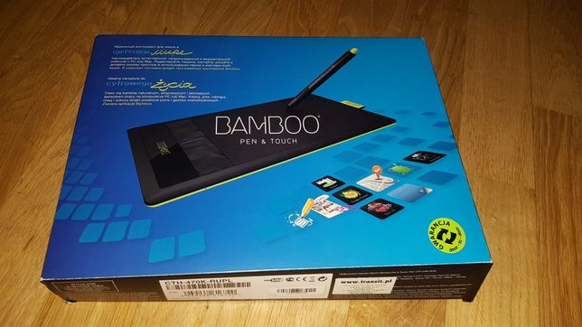 Tablet graficzny wacom bamboo pen & touch cth-470