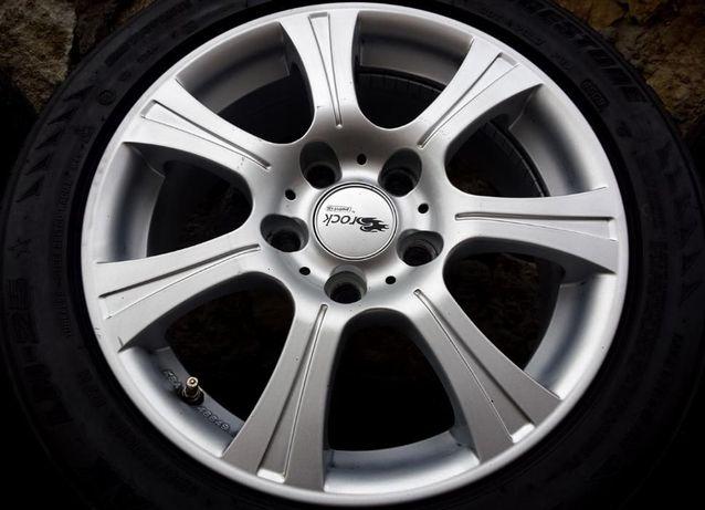 """Felgi aluminiowe 16"""" Brock 5x120 BMW 1 3 z oponami"""