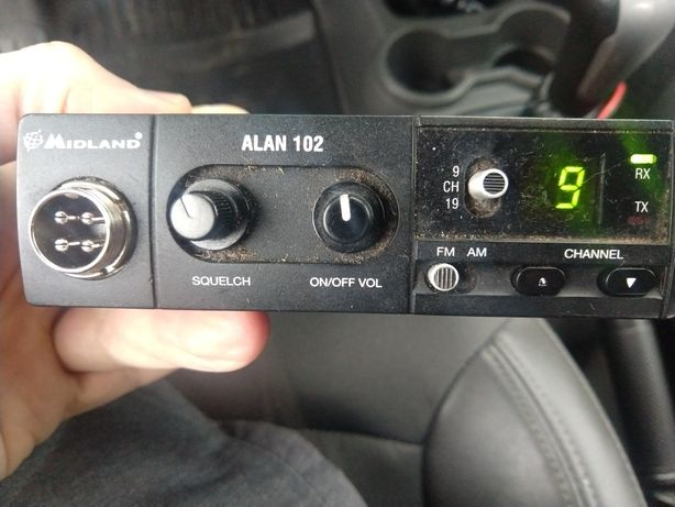 Radio CD Alan 102