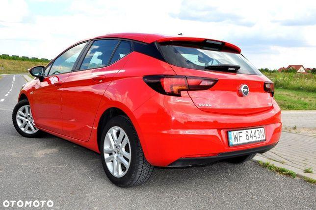 Opel Astra Salon Polska Pierwszy właściciel Bezwypadkowy...