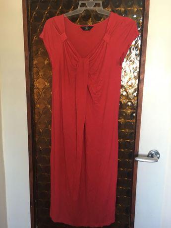 Sprzedam czerwoną sukienkę ciążowa Mothercare r.40(12)