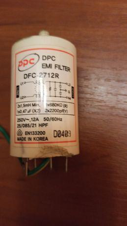 Сетевой фильтр б/у стиральной машинки samsung s621