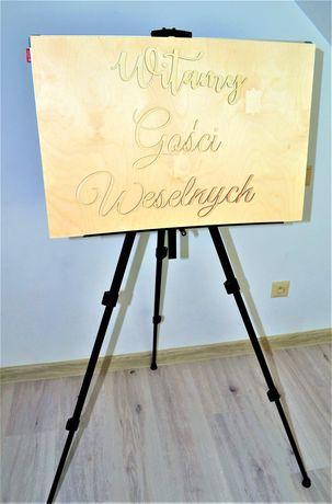 Tablica powitalna na wesele witamy gości weselnych