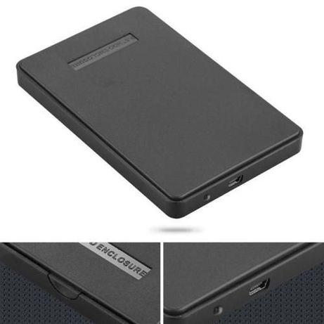 "Caixa Externa USB para disco SATA 2.5"" NOVO"