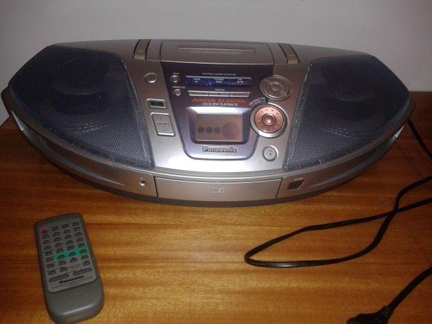 Radiomagnetofon z CD Panasonic/ Boombox