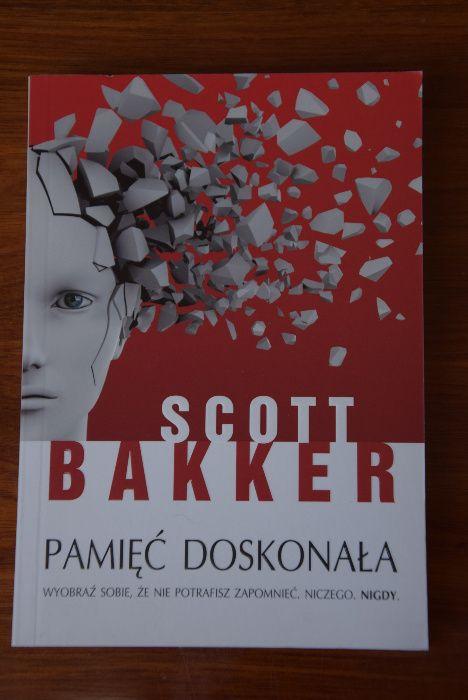 Bakker S. Pamięć doskonała thriller Poznań - image 1