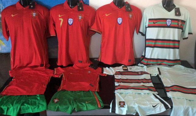 PROMOÇÃO camisola seleção de Portugal nova epoca 2021/22 entrega já