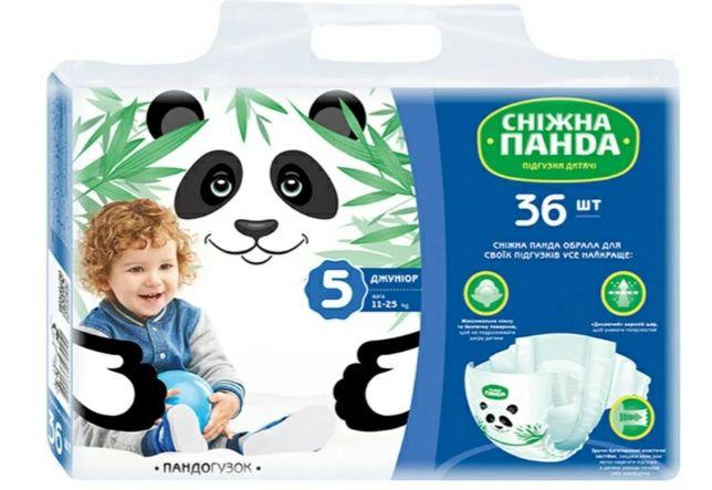 Подгузники Снежная Панда 5 размер