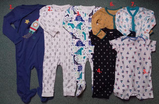 Pajacyki-piżamki-rampersy-body-dresy 6-12mc,12-18mc,18-24mc,2-3l Next