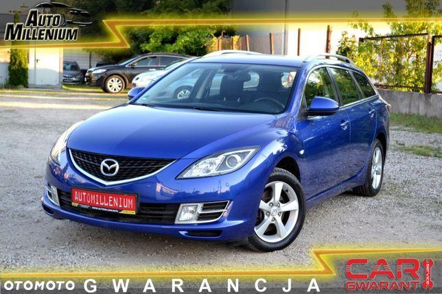 Mazda 6 1.8 Benzyna 185 Tys.Km Przebiegu 2xPdc Piękny i nie spotykany kolor