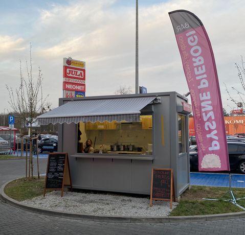 Kontener gastronomiczny-handlowy na wynajem / wyposażenie