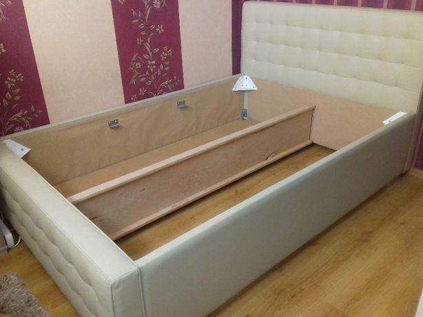 Łóżko sypialniane 140x200 ze skrzynią