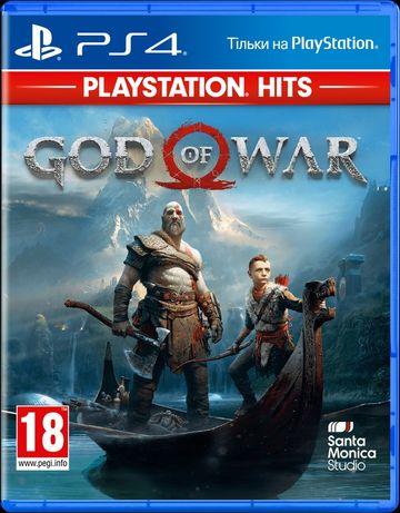 Диск God of War (Blu-ray, Russian version) для PS4