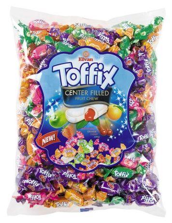 Конфеты Elvan Тоффикc 1 кг toffix mix, Toffix , тофикс фруктовый