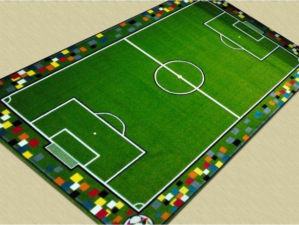 Детский ковер футбольное поле