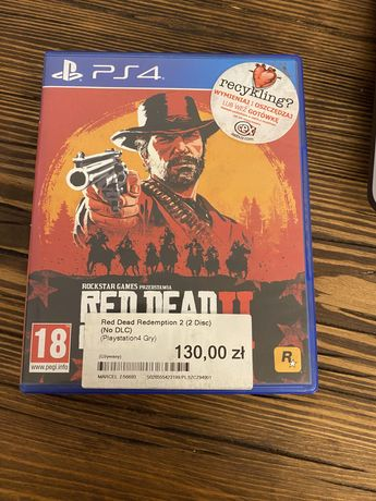 Red dead redemption ii 2 ps4 mapa
