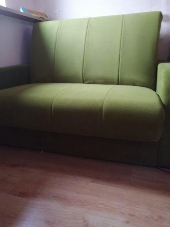 Sofa, Fotel TULI Unimebel z funkcją spania - idealny