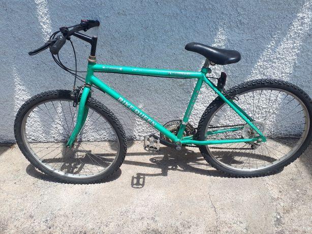 Bike queen bicicleta roda 26 verde