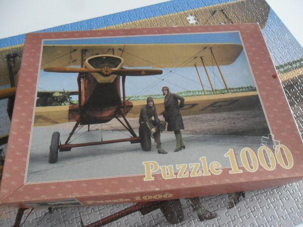 Puzzle 1000 el. Aircraft