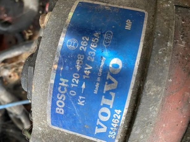 Volvo 940/93 alternator do 2.3 benzyny