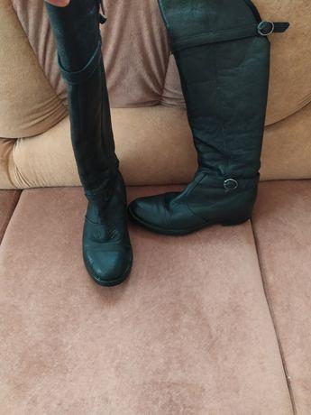 Зимові чоботи на овчині 36-37 розмір
