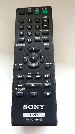 Pilot SONY DVD RMT-D198P z opcją obsługi telewizora