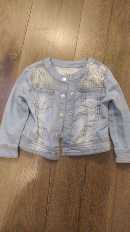 Ramoneska jeansowa dziecięca