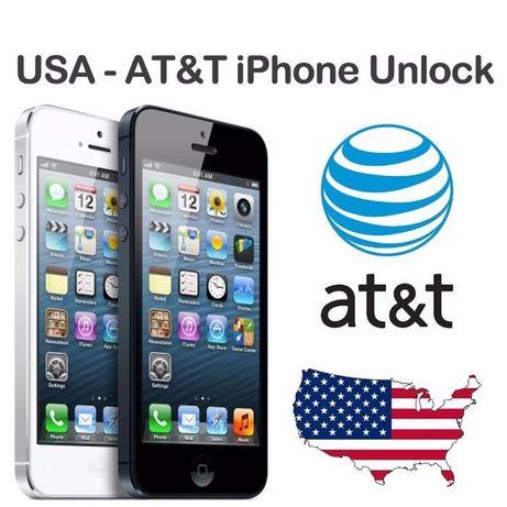 Официальная разблокировка Unlock iPhone AT&T 3G 4 4S 5 5S 5C 6 6s