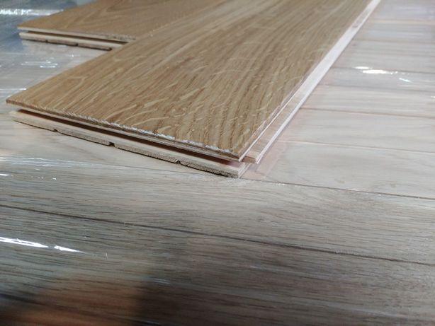 Deska podłogowa podłoga warstwowa dębowa 3 warstwy na ogrzewanie