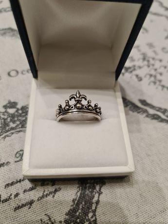 "Серебрянное кольцо ""Корона"", Италия"